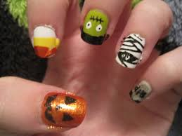 100 cute easy halloween nail ideas best 25 easy nail art