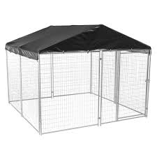 Kennel Floor Plans by Lucky Dog 6 Ft H X 10 Ft W X 10 Ft L Modular Welded Wire Kennel