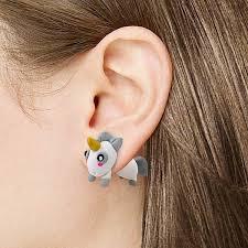 unicorn earrings exclusive magical unicorn earrings geekyget