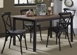 Retro Dining Room Furniture Liberty Furniture Vintage Dining Series 5 Piece Pub Table And Bar