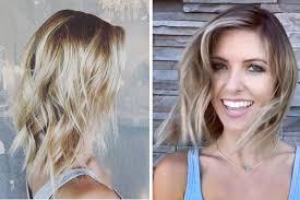 stylish hair color 2015 breaking hair news audrina patridge s blonde lob celebuzz