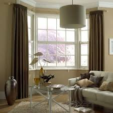 Kitchen Bay Window Curtains by Best 25 Bay Window Curtain Rail Ideas On Pinterest Window Rods