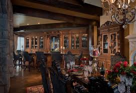Gothic Castle In The Blue Ridge Mountains Traditional Dining - Castle dining room