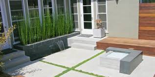 Images Of Concrete Patios Concrete Patio Design Ideas And Cost Landscaping Network