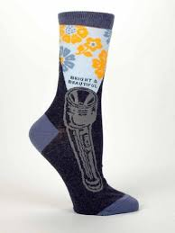 bright u0026 beautiful women u0027s dress socks by blue q u2013 online science mall