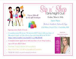 sip and shop invitation sip n u0027 shop at robert andrew