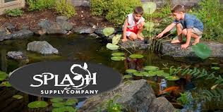 splash supply company pond contractor waterfall designer pond