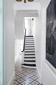 Decorating Hallways And Stairs Black And White Staircase Hallway Design Ideas Houseandgarden