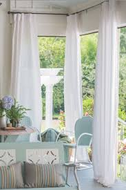 Outdoor Canvas Curtains Sunbrella Outdoor Drapes And Curtains