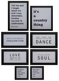 spanguole  Creative Co op Inc © Sayings Wall Decor