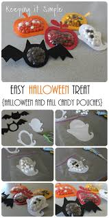 halloween candy favors keeping it simple halloween and fall candy pouches tutorial