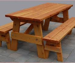 picnic table with separate benches wooden picnic tables with umbrella hole in splendiferous wooden