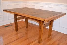 Tiled Kitchen Table by Cool Design Cypress Dining Table All Dining Room
