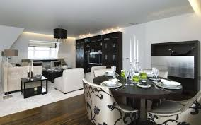 black and white dining room 52 ideas of black and white living rooms hawk haven