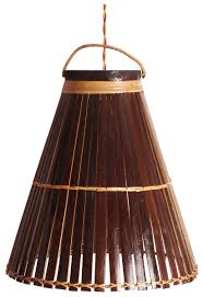 wholesale home decor items hanging lamp u2013 handmade in bamboo u2013 conical shaped u2013 ceiling lamps