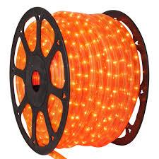 orange rope lights