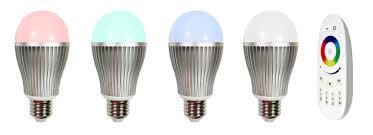 smart 2 4g wifi led bulb light 9w rgb color change e27 e27 wifi