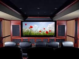 futuristic home theater room design with lighting ideas design