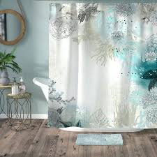 Green Chevron Shower Curtain Seafoam Green Shower Curtain Shower Curtain Mint Green Chevron