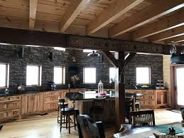 kitchen livingroom kitchen u2013 cox log homes