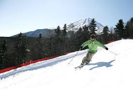 fujiten snow resort in mt fuji japan