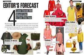 Color Forecast by Editor U0027s Forecast 4 Color Trends We Would Like To See This Year