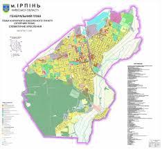 Nih Map генеральный план развития города ирпень Irpin Pinterest