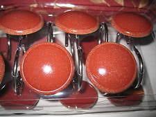 Red Shower Curtain Hooks Ceramic Shower Curtain Hooks Ebay