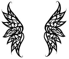 tattoo angel simple simple angel wings tattoo designs clip art library