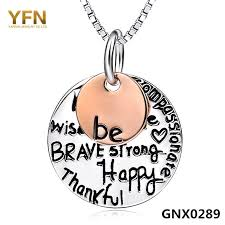 inspirational pendants online shop gnx0289 genuine 925 sterling silver necklace jewelry