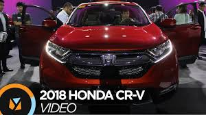 honda cars philippines 2018 honda cr v launched in the philippines youtube