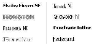 design lines font create an art deco inspired vector logo in gravit designer
