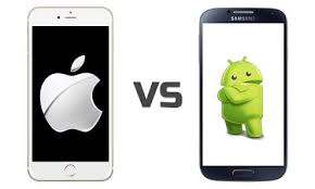 difference between iphone and android the points of difference between android phone and iphone