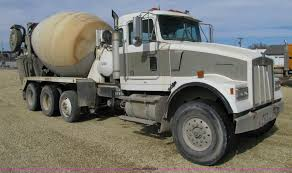 kenworth w900b 1995 kenworth w900b cement mixer truck item 5172 sold m