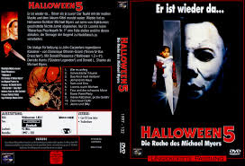 Halloween 3 Cast Michael Myers by Halloween V Die Rache Des Michael Myers Dvd Cover 1989 R2 German