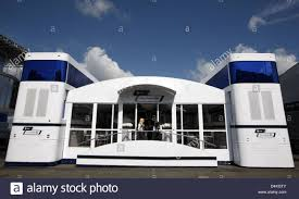 f1 motorhome the williams f1 motorhome seen prior to the grand prix of germany