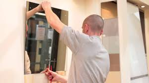 How To Put A Frame Around A Bathroom Mirror by Bathroom Mirrors Fresh How To Put Up A Bathroom Mirror Room
