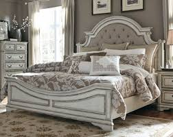 bedroom sets traditional style antique white traditional 6 piece king bedroom set magnolia manor