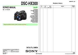 sony dsc hx300 service manual page 8