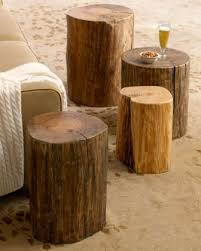 Log Side Table Where Can I Purchase The Log Side Table