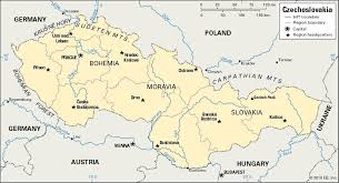 map of countries surrounding germany czechoslovakia historical nation europe britannica