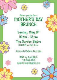 s day brunch invitation mothers day invitations items similar to printable mothers day