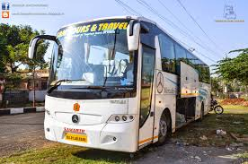 sam tours and travels mercedes benz biaxle ka01 ab 6249 part 1