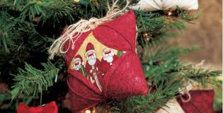 6 quilt ornaments make your special this year