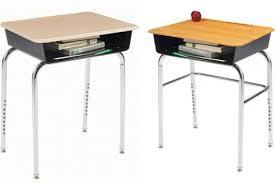 Open Front Desk 1200 Premium Adj Open Front Desks Student Desks