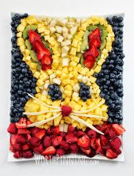 bowl of fruits worth pinning bunny head fresh fruit platter