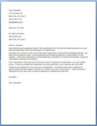 Cover Letters Samples For Resumes by Dental Hygiene Cover Letter Samples 5 Uxhandy Com
