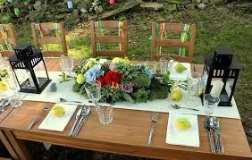 decorating ideas lemons garden party table decor