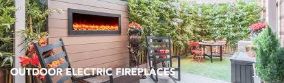 Outdoor Metal Fireplaces - outdoor electric fireplaces u2013 touchstone home products inc
