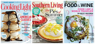 cooking light subscription status southern living cooking light and food wine magazines for 5